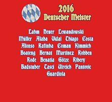 Bayern Munich 2015/2016 German Champions Unisex T-Shirt
