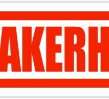 Sneakerhead Box - Red Sticker