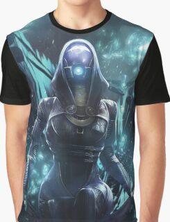 Mass Effect - Tali'zorah Vas Normandy Graphic T-Shirt