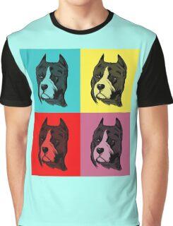 Dog Pop Art Graphic T-Shirt