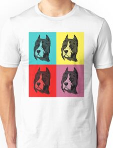 Dog Pop Art Unisex T-Shirt