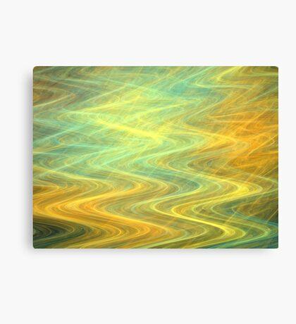 Sunshine Waves Canvas Print