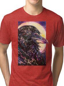 Space Raven Tri-blend T-Shirt