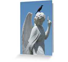 Cemetery Angel Greeting Card