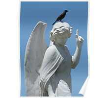Cemetery Angel Poster