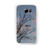 Black Birds Samsung Galaxy Case/Skin