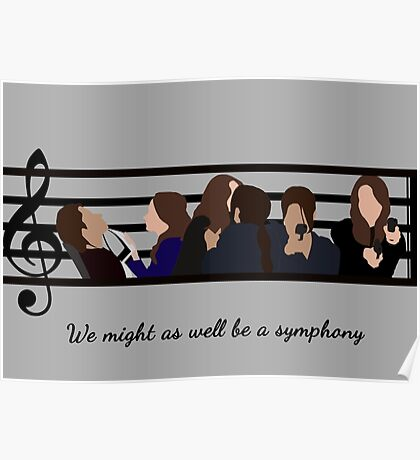 Root and Shaw – We Might As Well Be A Symphony Poster