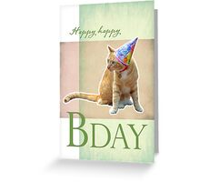 Scamp Turns Two Greeting Card