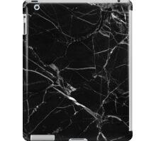 BLACK MARBLE  iPad Case/Skin