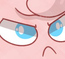 Angry Jigglypuff Sticker