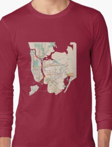 new york subway Long Sleeve T-Shirt