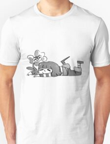 Flowey  white and black Unisex T-Shirt