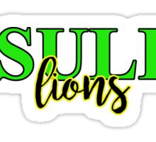 Ursuline Lions Sticker
