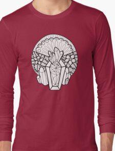 Crystal Coffin: Memento Mori Long Sleeve T-Shirt