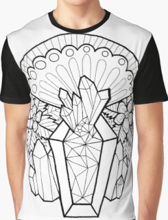 Crystal Coffin: Memento Mori Graphic T-Shirt