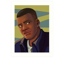 Franklin Clinton Art Print