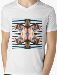 Behind blue eyes Mens V-Neck T-Shirt