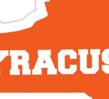 Syracuse New York Sticker