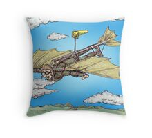 Jet Stream Throw Pillow