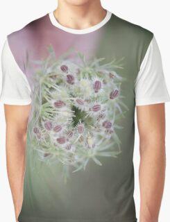 Flower seedhead macro Graphic T-Shirt