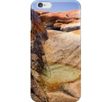 Bay of Fires pool iPhone Case/Skin