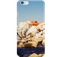Red rocks, white rocks iPhone Case/Skin
