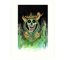 The Lich Art Print