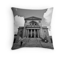 The structure Throw Pillow