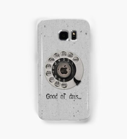 Traditional rotary telephone dial. Apple. Samsung Galaxy Case/Skin