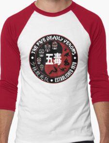 CLASSIC KUNG FU MOVIE THE 5 DEADLY VENOMS SHAOLIN SQUAD T-SHIRT Men's Baseball ¾ T-Shirt