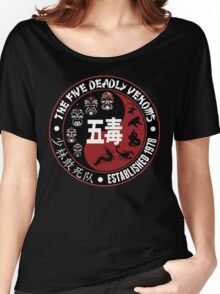 CLASSIC KUNG FU MOVIE THE 5 DEADLY VENOMS SHAOLIN SQUAD T-SHIRT Women's Relaxed Fit T-Shirt