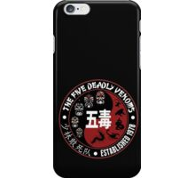 CLASSIC KUNG FU MOVIE THE 5 DEADLY VENOMS SHAOLIN SQUAD T-SHIRT iPhone Case/Skin