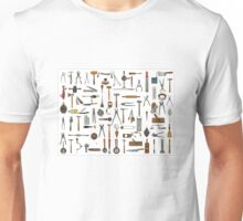 Tools and Utensils. Good Old Days. Unisex T-Shirt