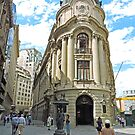 Santiago Stock Exchange Building by Graeme  Hyde