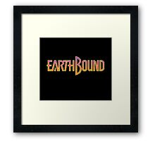 Earthbound: Title Framed Print