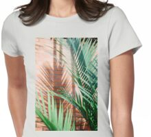 shadow and leafs Womens Fitted T-Shirt
