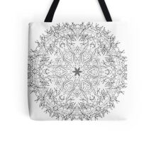 Crown And Vines Mandala | Made For Color Tote Bag