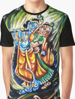 Radha Krishna Graphic T-Shirt