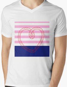 Ahoy me hearty! (dipped) Mens V-Neck T-Shirt