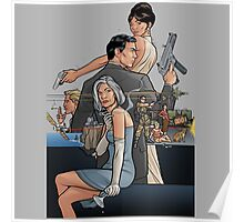 Archer the secret agent Poster