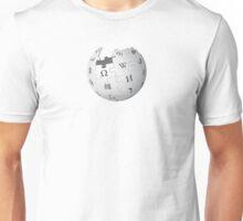 Wikipedia logo Unisex T-Shirt