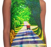 The Road less Travelled Contrast Tank