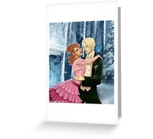 Dramione - Yule Ball Greeting Card
