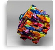 Fish Cubes Canvas Print