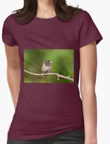 Dark Eyed Junco Womens Fitted T-Shirt