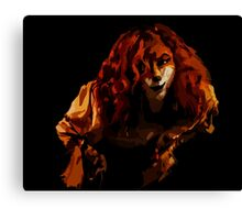 Sly Fox - Full Color Canvas Print