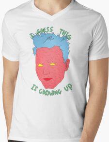 Damn it Mens V-Neck T-Shirt
