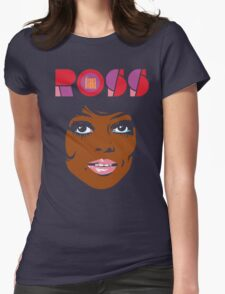 Diana Ross Womens Fitted T-Shirt