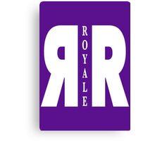 Royale Bar from Killjoys tv show, white design Canvas Print