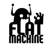 Flat Machine Photographic Print